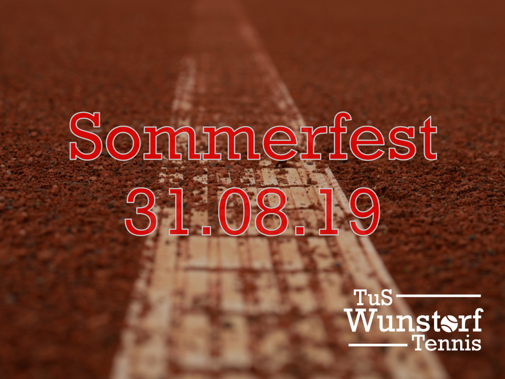 Herren 40 Aufstieg Sommerfest 31.08.19