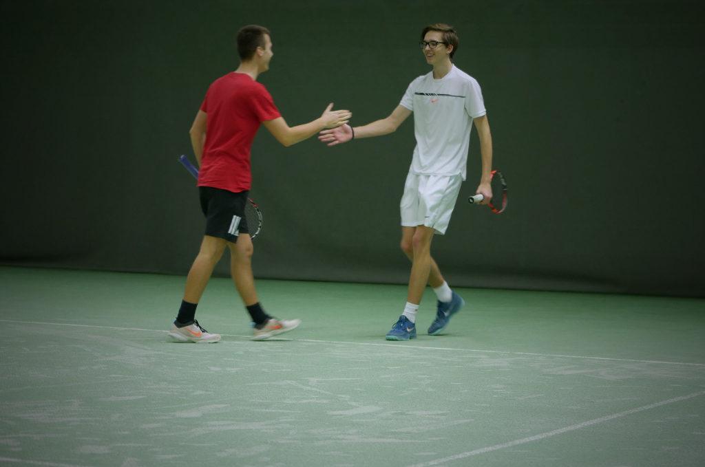 David Fieberg und Luka Schweer